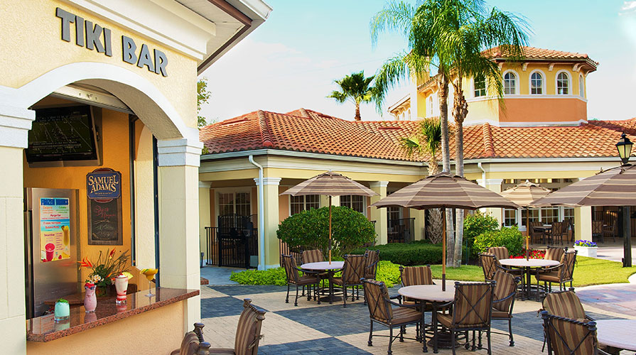 Tiki Bar of WorldQuest Orlando Resort, Orlando